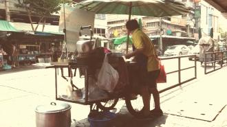 Bankgok - Vendedor de Agua de Jengibre