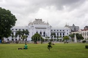 Citi Hall - Parque Mahabandoola, Yangon