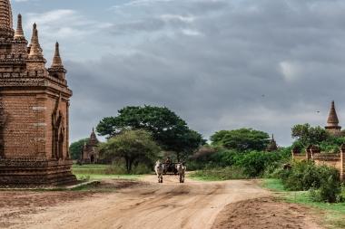 Bagan no es Disneylandia... aún... la imagen es real
