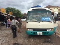 Autobus - Luang Namtha a Luang Prabang