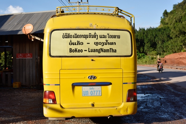 ¡Autobus VIP en Laos!